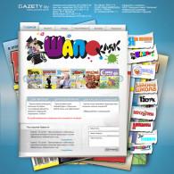 Создание сайта для ООО «Редакция газеты «Шапокляк»
